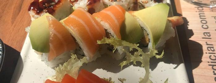Totto sushi is one of Una mica de Japó a Barcelona.