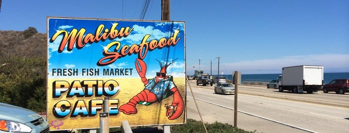 Malibu Seafood Fresh Fish Market & Patio Cafe is one of Steve's Roadside Dives.