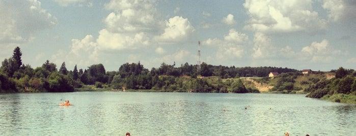 Карьер в Толстяково is one of Roman : понравившиеся места.