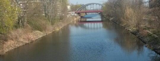 Kiefholzbrücke is one of Brücken.