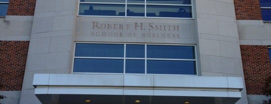 Robert H. Smith School Of Business is one of Smith School of Business Places.