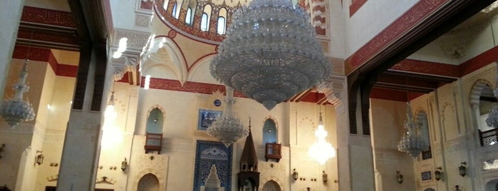 Mohammed Al-Amin Mosque is one of Beirut.