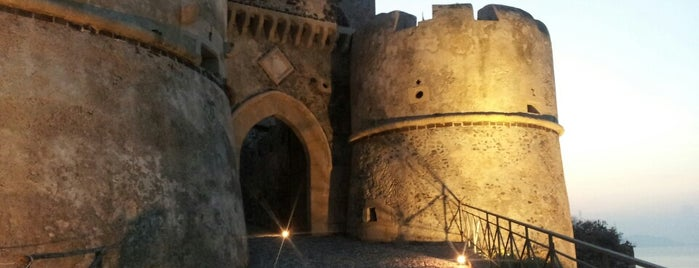 Castello di Milazzo is one of Sicily.