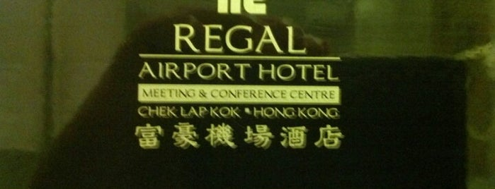Regal Airport Hotel is one of Hong Kong.