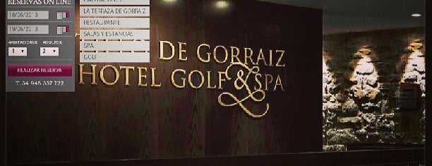 Castillo de Gorraiz Hotel, Golf y SPA is one of August : понравившиеся места.