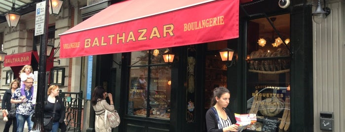 Balthazar is one of فطور لندن.