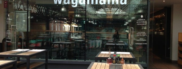 wagamama is one of Tempat yang Disimpan 5 Years From Now®.