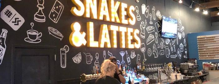 Snakes & Lattes Tempe is one of Lieux qui ont plu à Erik.