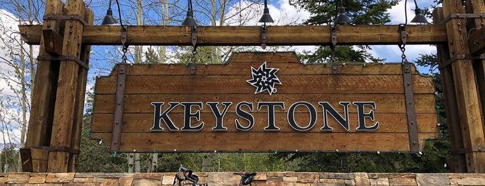 Keystone Ski Resort is one of สถานที่ที่ David ถูกใจ.