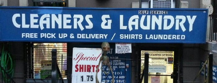 Cleaners & Laundry is one of Ny.