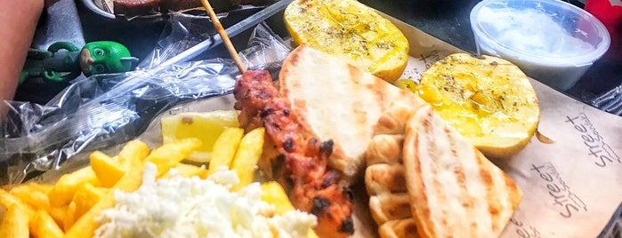 Street Souvlaki is one of Booklet - Food Tours.