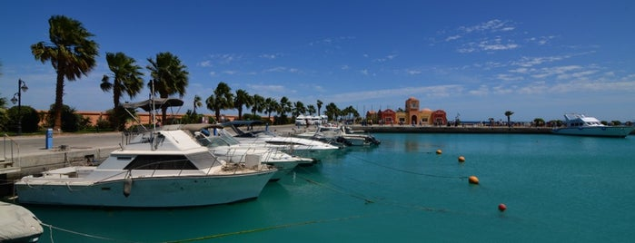 Hurghada Marina is one of Frankさんのお気に入りスポット.