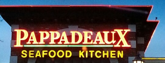 Pappadeaux Seafood Kitchen is one of Tempat yang Disimpan Robert.