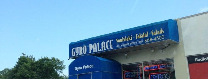 Gyro Palace is one of Posti salvati di Christopher.