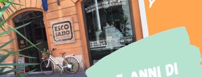 Escosazio   Juice Bar is one of Un paseo por Roma.