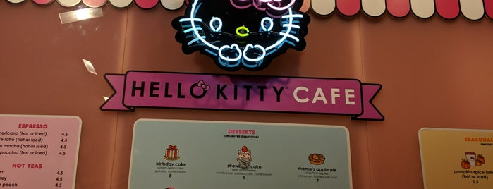 Hello Kitty Cafe is one of Bay Area July 2018.