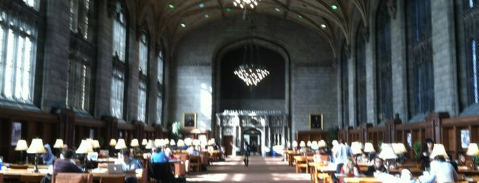 Harper Memorial Library is one of Books everywhere I..