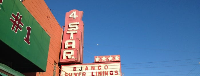 4 Star Theatre is one of An Arty Elitist's Guide to San Francisco.