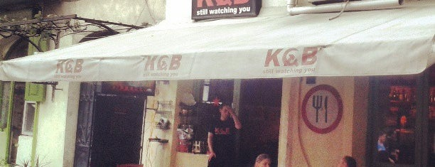 KGB is one of Restaurants arround the world.