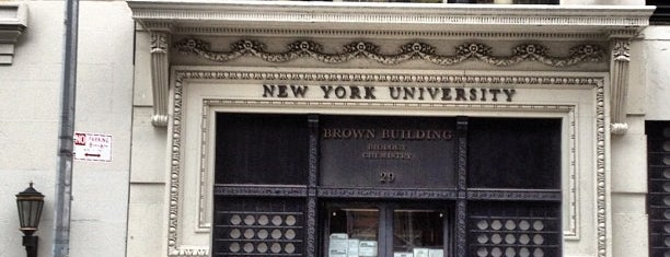 NYU Brown Building is one of Historic NYC Landmarks.