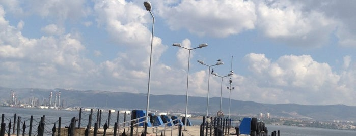 Değirmendere Vapur İskelesi is one of Lugares favoritos de Cem.