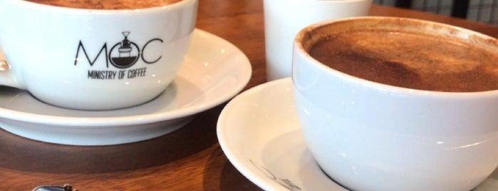 MOC Coffee Roastery is one of İzmir.