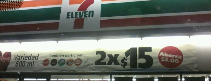 7- Eleven is one of 7/11 M.
