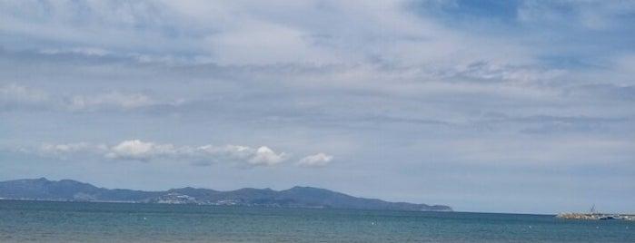 Platja de Riells is one of Playas de España: Cataluña.