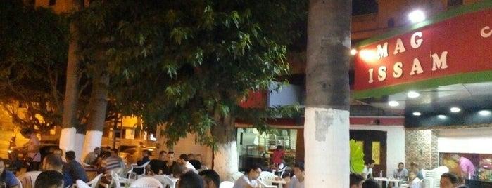 Café Mag Issam is one of Tempat yang Disukai ONUR.