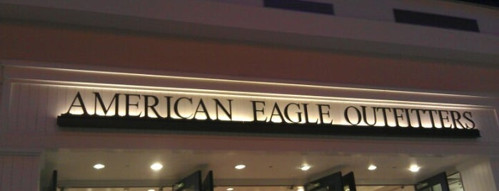 American Eagle Outfitters is one of Locais curtidos por Cristina.
