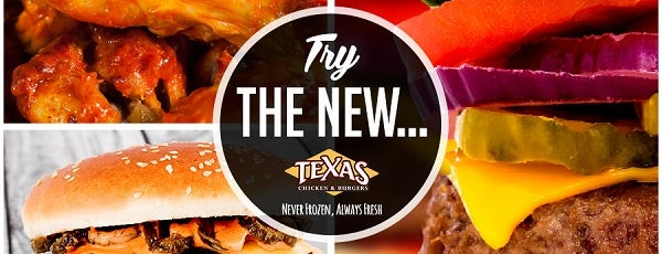 Texas Chicken and Burgers is one of Fast Food.