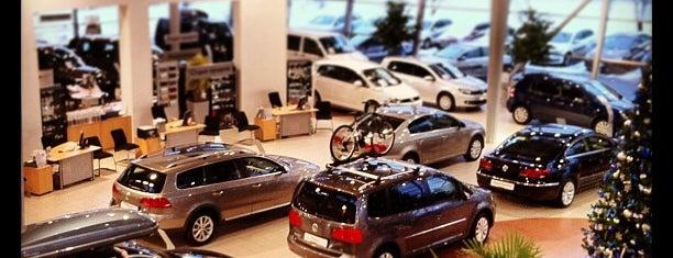 Volkswagen Центр Германика is one of Roman : понравившиеся места.