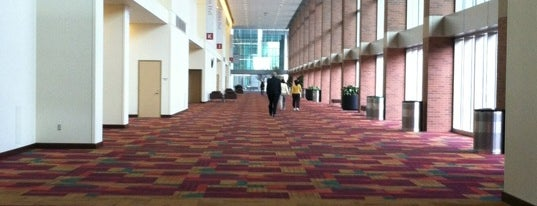 Indiana Convention Center is one of Tempat yang Disukai Matt.