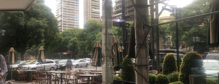 TABAC caffé & bar is one of Tempat yang Disukai Antonella.