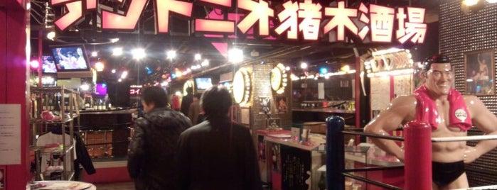 アントニオ猪木酒場 新宿店 is one of Tさんの保存済みスポット.