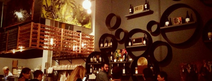 Vinyl Coffee & Wine Bar is one of SF - been there!.