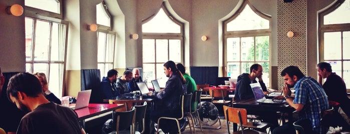 St. Oberholz is one of must-visit cafés in berlin.