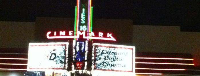 Cinemark is one of สถานที่ที่บันทึกไว้ของ Larry&Rachel.