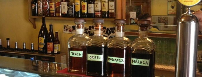 Bar Bodega Quimet is one of Vermouth.