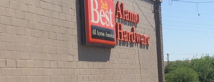 Alamo Hardware is one of Locais curtidos por J..