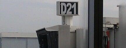 Gate D21 is one of Tempat yang Disukai Alberto J S.