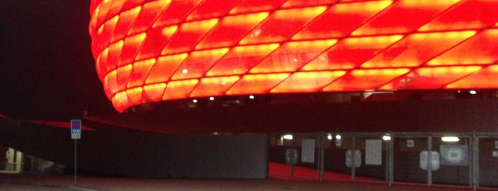 Allianz Arena is one of Munich Social.