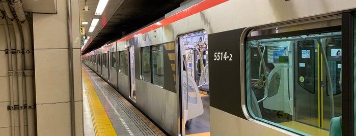 Nakanobu Station is one of 高井 님이 좋아한 장소.