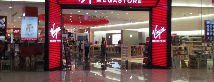 Virgin Megastore is one of Alhatoon'un Beğendiği Mekanlar.