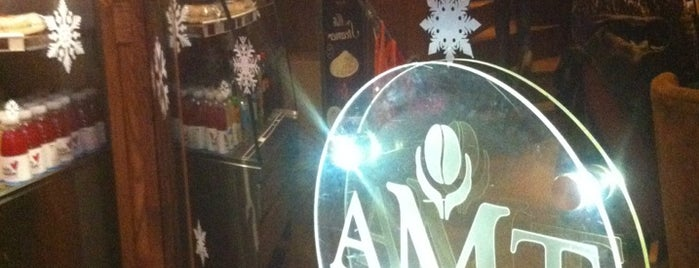 AMT Coffee is one of London.