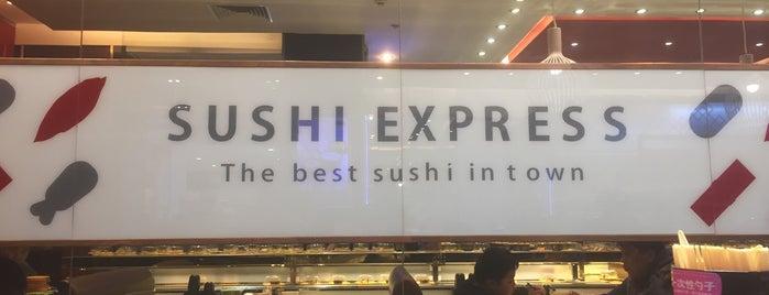 Sushi Express Shuangjing is one of Beijing ❤.
