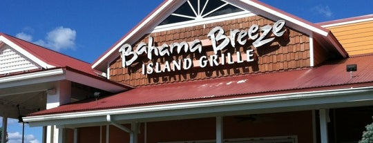 Bahama Breeze is one of Little Falls hot spots.