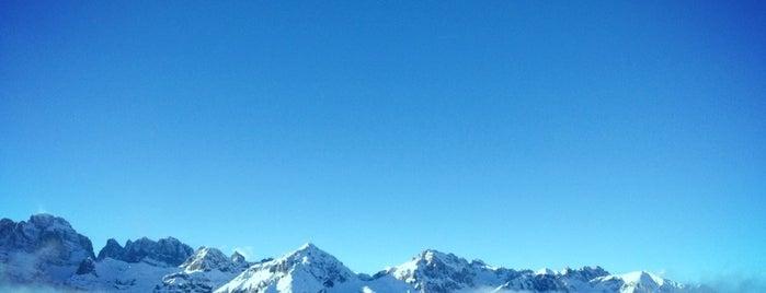 Andalo is one of Dove sciare.