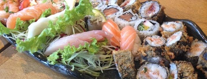 Itoshii sushi is one of Orte, die Nilson gefallen.