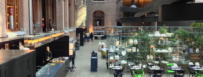 Conservatorium Hotel is one of terrace/garden 020.